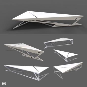 Sci-Fi Coffee Table A
